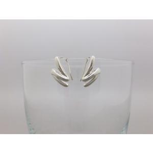 ピアス シルバー925 シンプル Nラインピアス|silverbell-jewellery