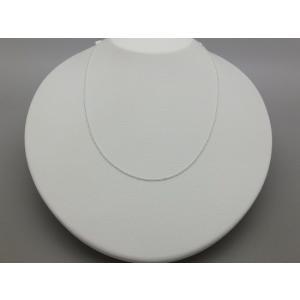 シルバー925 ネックレスチェーン 40cm シンプル 軽量 silverbell-jewellery
