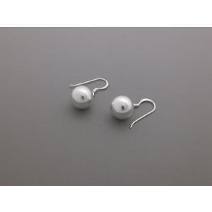 ピアス シルバー925 シンプル 軽量     ボールピアス|silverbell-jewellery