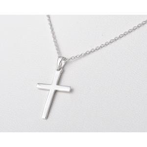 ペンダント シルバー925 シンプル 軽量   クロスSペンダント silverbell-jewellery