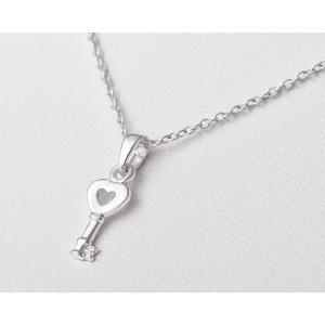 ペンダント シルバー925 シンプル 軽量   キー・プチペンダント silverbell-jewellery