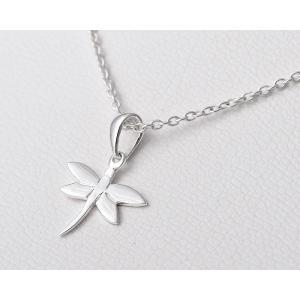 ペンダント シルバー925 シンプル 軽量   とんぼ・プチペンダント silverbell-jewellery