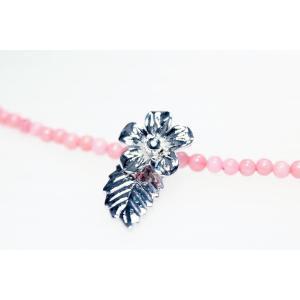 コーラルネックレス シルバー925 YangLay  silverbell-jewellery