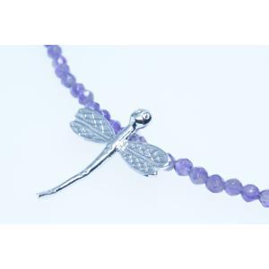アメジストネックレス シルバー925 YangLay  silverbell-jewellery