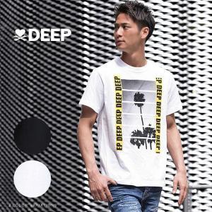 (取り寄せ)DEEP【ディープ】Yellow Tape フォト Tシャツ/全2色