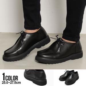"""(取り寄せ) """"レースアップシューズ 革靴 メンズ 厚底 メンズシューズ モカシン """" (ご注文から1週間〜10日前後発送)(返品・交換対象外商品)(AM) silverbulletxfuga"""