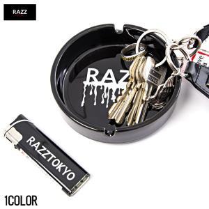 """""""RAZZIS【ラズ】灰皿&ライターセット/全1セット """"灰皿 ライター セット ロゴ"""