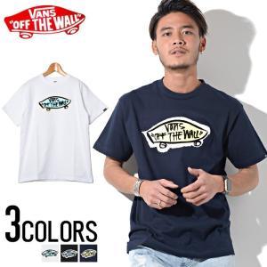 Tシャツ vans メンズ ロゴ 半袖 ストリート