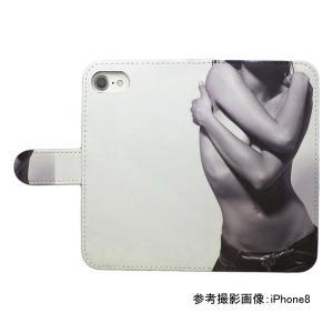 スマホケース 手帳型 プリントケース セクシー レディ 女性 iPhone|silvereye|02