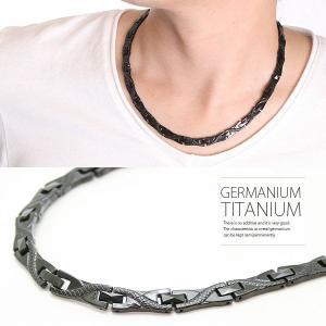 磁気ネックレス ゲルマニウム チタン 肩こり スポーツ 健康 血行 メンズ 龍デザイン|silverfactory