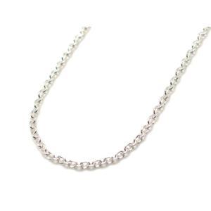 シルバーあずきチェーン・長さ60cm・幅1.2mm|silveringrowth