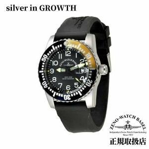 腕時計 ゼノ Zeno メンズ 6349-515Q-12-a1 9 ダイバーズウォッチ オレンジベゼル 500mm防水 腕時計|silveringrowth