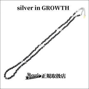 トレサリーブラックスピネルネックレス/Artemis Classic/アルテミスクラシック|silveringrowth