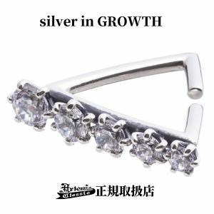 アルテミスクラシックxエレノアジュエリー Artemis Classic x Elenore Jewelry グラデトライアングルイヤーカフ 片耳分 メンズ レディース シルバー ACE0157 silveringrowth