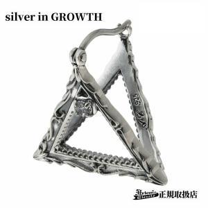 フレームトライアングルピアス/Artemis Classic/アルテミスクラシック (シルバー925製) ace0176|silveringrowth