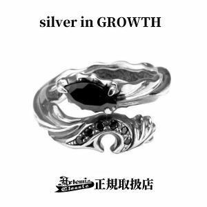 ドラゴンハートリング/指輪(ブラックジルコニア)/Artemis Classic/アルテミスクラシック|silveringrowth