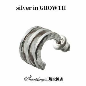 トリプルフープピアス/片耳分/アルテミスキングス/ARTEMIS KINGS ake0085|silveringrowth