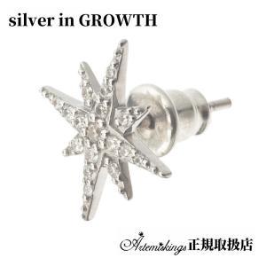 アルテミスキングス ARTEMIS KINGS ノーススタースタッドピアス 片耳分 AKE0091|silveringrowth
