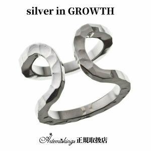 ダブルカフリングL/ Elenoreエレノア×ARTEMIS KINGSアルテミスキングス (シルバー925製) akelr0002|silveringrowth