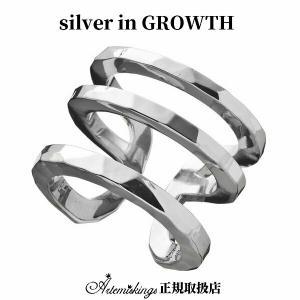 トリプルカフリングL/ Elenoreエレノア×ARTEMIS KINGSアルテミスキングス (シルバー925製) akelr0003|silveringrowth