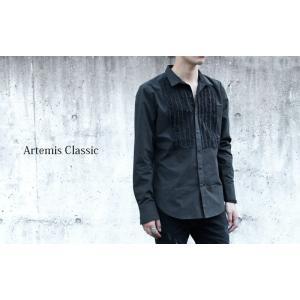 特別価格 フリルブザムシャツ/Artemis Classic/アルテミスクラシック apst-5005|silveringrowth
