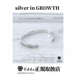 Edda(エッダ) シルバー バングル ブレスレット レディース ターコイズ|silveringrowth