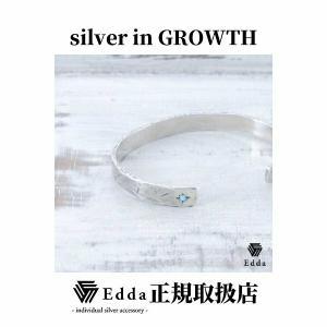 Edda(エッダ) シルバー バングル ブレスレット メンズ ターコイズ|silveringrowth