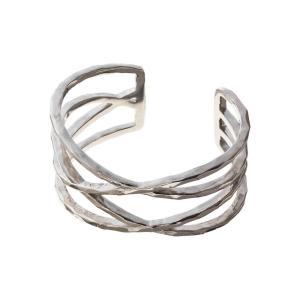 エレノアジュエリー Elenore Jewelry ワイドラップバングル ブレスレット SILVER925 ELB0002|silveringrowth