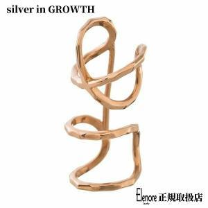 10金X2イヤカフ/片耳分/エレノアジュエリー/Elenore Jewelry|silveringrowth
