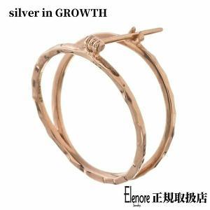 10金サークルピアス/片耳分/エレノアジュエリー/Elenore Jewelry|silveringrowth