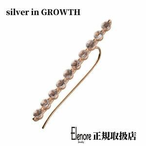 10金ホライゾンイヤークライマーピアス/片耳分/エレノアジュエリー/Elenore Jewelry|silveringrowth