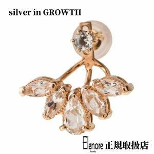 10金ブルームトパーズイヤージャケット/片耳分/エレノアジュエリー/Elenore Jewelry|silveringrowth