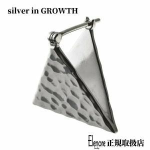 エレノアジュエリー Elenore Jewelry トライアングルプレートピアス 片耳分 シルバーピアス SILVER925 ELE0011|silveringrowth