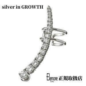 パヴェイヤークライマーピアス/片耳分/エレノアジュエリー/Elenore Jewelry|silveringrowth
