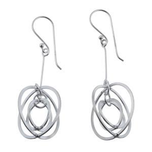エレノアジュエリー Elenore Jewelry サークルシルバーピアス1 両耳分 ELE0025 silveringrowth