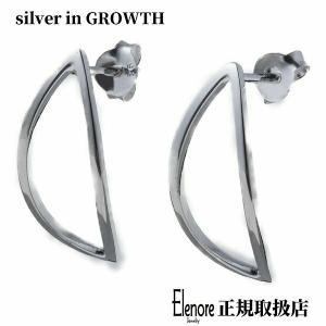 エレノアジュエリー Elenore Jewelry リーフフレームシルバーピアス 両耳分 ELE0033 silveringrowth