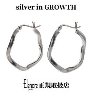 エレノアジュエリー ウェイブフープシルバーピアス 両耳分 ELE0048 silveringrowth