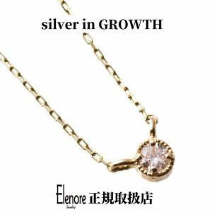 10金一粒トパーズペンダント/エレノアジュエリー/Elenore Jewelry|silveringrowth