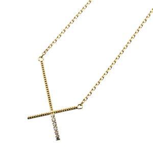 リヴァースクロスネックレス/エレノアジュエリー/Elenore Jewelry|silveringrowth