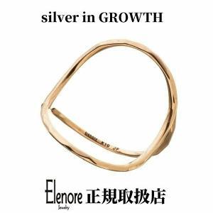 10金オープンサークルリング/エレノアジュエリー/Elenore Jewelry|silveringrowth