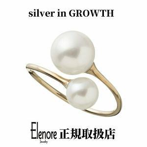 10金トゥーパールリング/エレノアジュエリー/Elenore Jewelry|silveringrowth