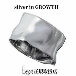 エレノアジュエリー 平打ちしわ加工シルバーリング ELR0010 silveringrowth
