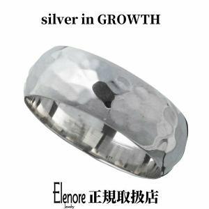 エレノアジュエリー 甲丸槌目シルバーリング ELR0016 silveringrowth