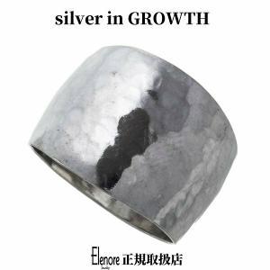 エレノアジュエリー ボリューム槌目シルバーリング ELR0018 silveringrowth