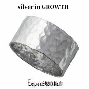 エレノアジュエリー 薄型槌目シルバーリング ELR0020 silveringrowth