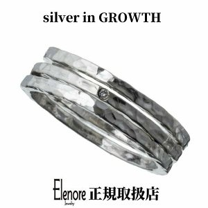 エレノアジュエリー ダイヤモンド3連スタッカブルシルバーリング ELR0023 silveringrowth