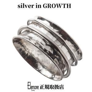 エレノアジュエリー スピナー逆甲丸リング ELR0056 silveringrowth