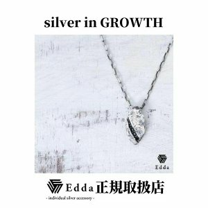 Edda(エッダ) シルバー ネックレス メンズ レディース ブラックキュービック|silveringrowth