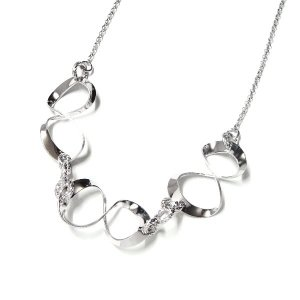 シルバーレディースネックレス FRABOSO(フラボッソ):イタリア製《Made in Italy》|silveringrowth