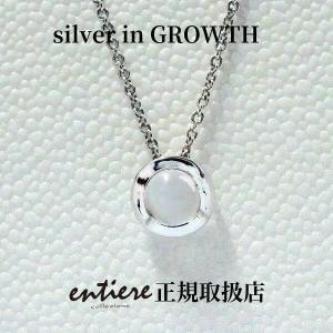 ムーンストーン サークルペンダント|silveringrowth